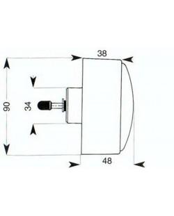 TUBCHASS COMMANDE DIRECTE CLOISON DE 20 A 100 mm