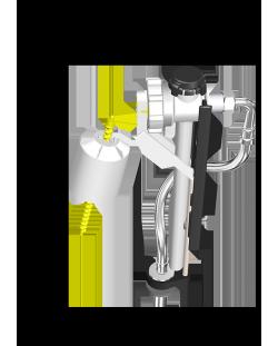 Robinet Flotteur CLARAMAX alimentation par le bas / 5037.000