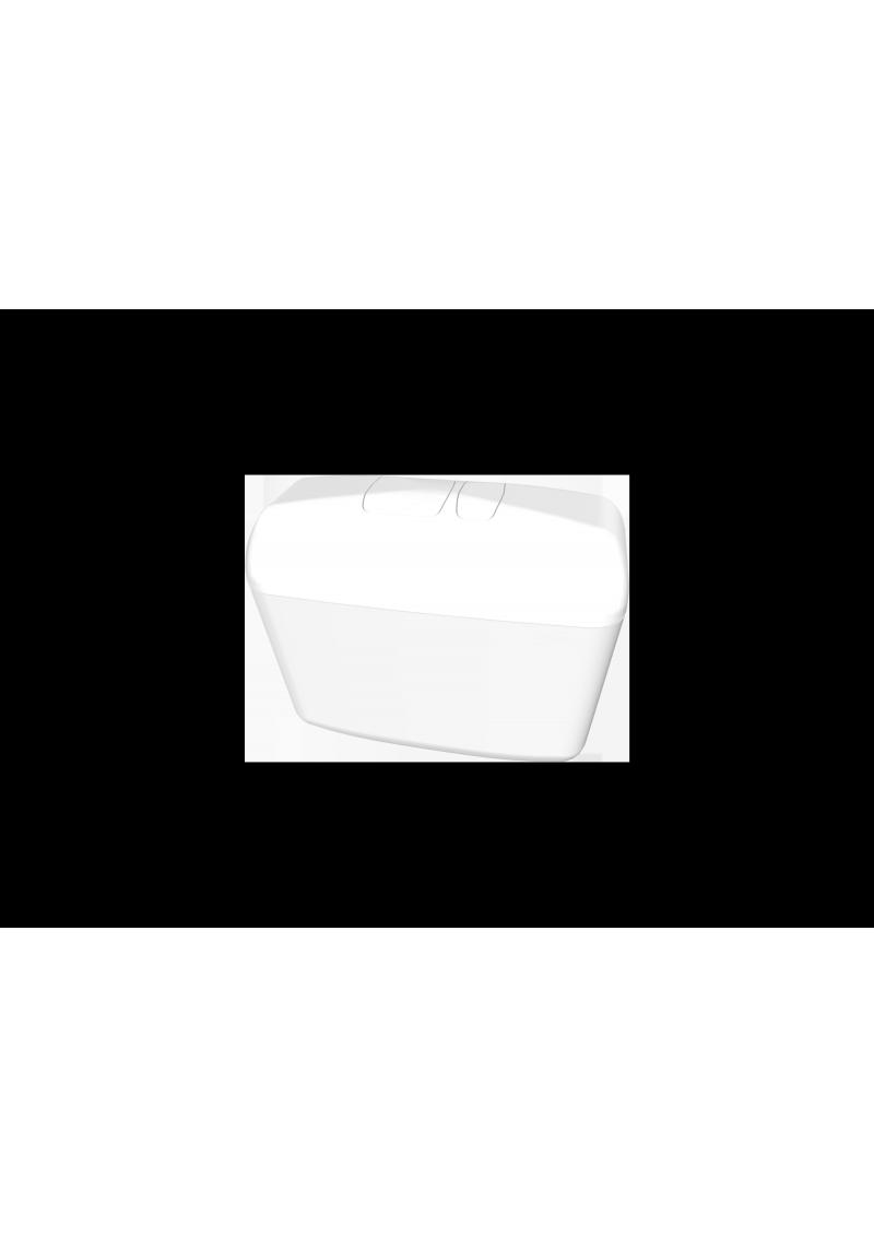 Réservoir F 6000 Alimentation Latérale : DOUBLE COMMANDE 3/6 LITRES - Modèle attenant / 2724.000