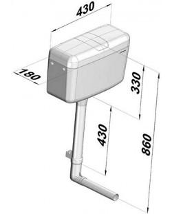 "RESERVOIR SERIE ""500 Z"" - Modèle semi-bas type A"